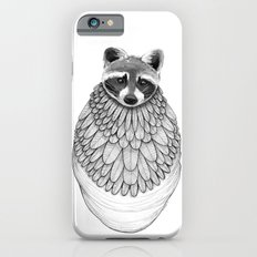 Raccoon- Feathered iPhone 6s Slim Case