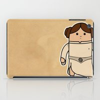 leia iPad Cases featuring Leia by thejrowe
