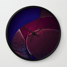 Pink booty Wall Clock