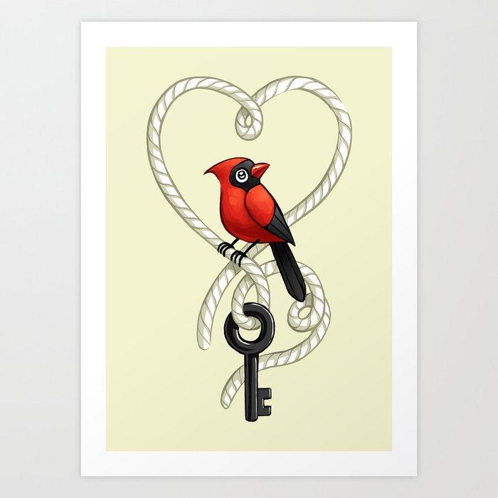 Love Bird Art Print