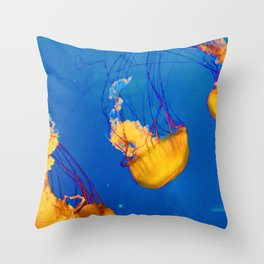 Orange Jellies Throw Pillow