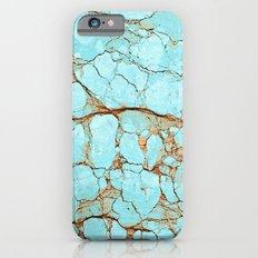 Rusty Cracked Turquoise iPhone 6 Slim Case