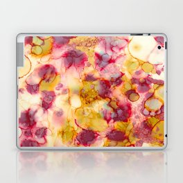 Nature's Grace - Alcohol ink painting Laptop & iPad Skin