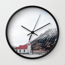 Icelandic Church Wall Clock