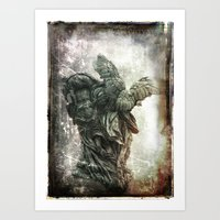 I Will Carry You Art Print