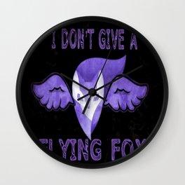 Flying Fox Wall Clock