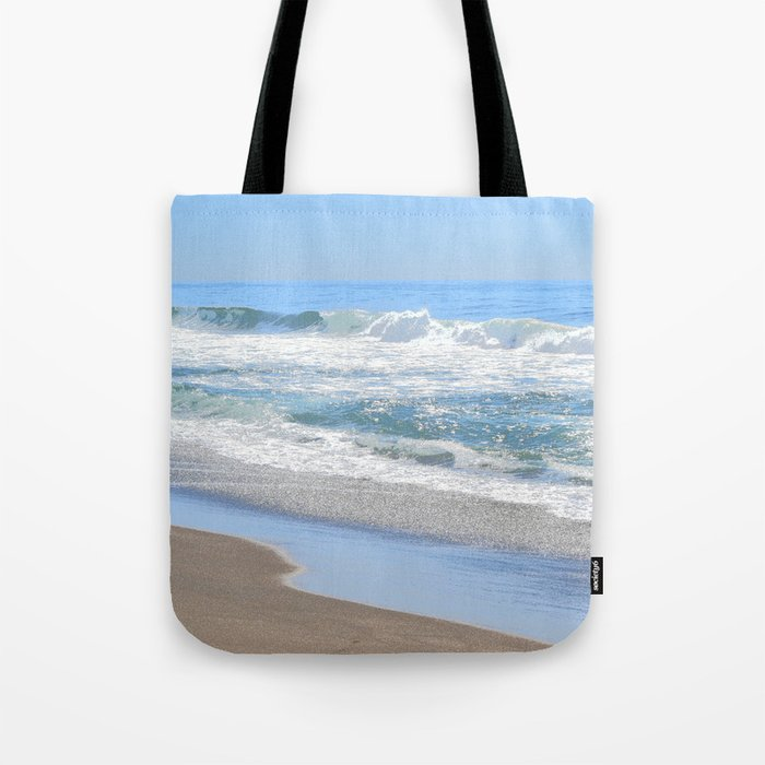 Blue Beach Ocean Tote bag