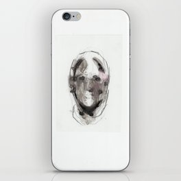 Woman With Head Wound iPhone Skin