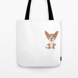 My Basenji Makes Me Happy Tote Bag