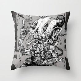Dickhead Throw Pillow