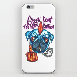 Screw The Norm iPhone Skin