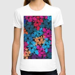 Colorful geometric Shapes T-shirt