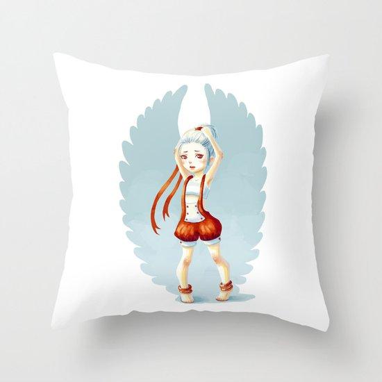 Dancer Throw Pillow
