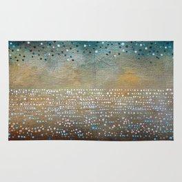 Landscape Dots - Turquoise Rug