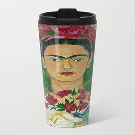 Frida In Heaven Travel Mug