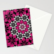 Squiggle pink Stationery Cards