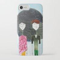 sandra dieckmann iPhone & iPod Cases featuring Sandra & Amir by Edward M.