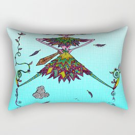 The Boy in Flight Rectangular Pillow