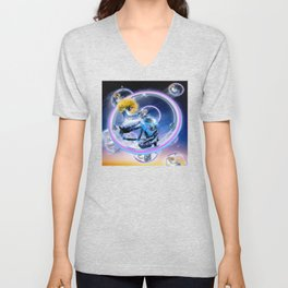 Wind Surfers II (Part 2) Unisex V-Neck
