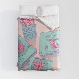 Flowers & Consoles Comforters