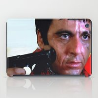 scarface iPad Cases featuring Al Pacino @ Scarface #1 by Gabriel T Toro