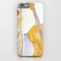 Violin and Roses iPhone 6s Slim Case