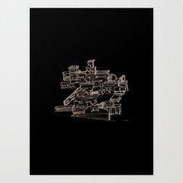 Habitat Art Print