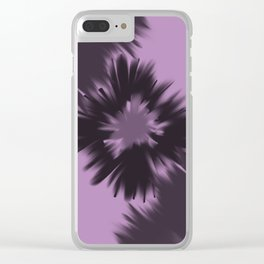 Crystal shards Clear iPhone Case