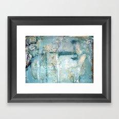 Water Damaged Framed Art Print