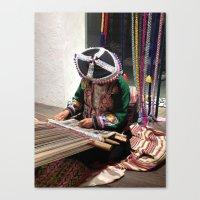 peru Canvas Prints featuring Peru by Catherine Heft
