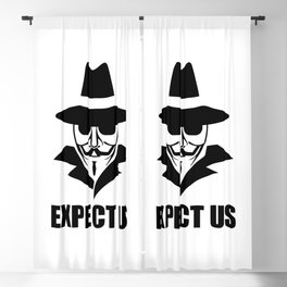 We are anonymous Blackout Curtain
