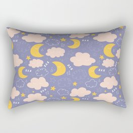Good Night Baby Rectangular Pillow