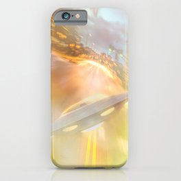 Downtown UFO iPhone Case