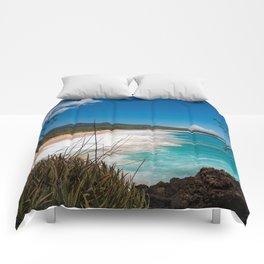 Big Beach from Little Beach Comforters