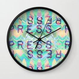 press r... always Wall Clock