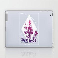 Purple Astronaut  Laptop & iPad Skin