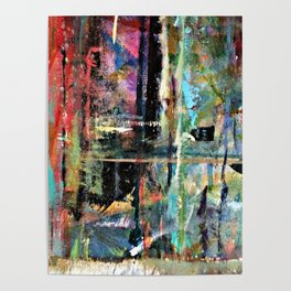 Colorful Bohemian Abstract 2 Poster