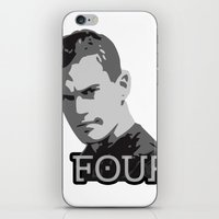 divergent iPhone & iPod Skins featuring Divergent: Four by Flash Goat Industries
