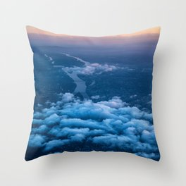 Above 02 - Budapest - photo series Throw Pillow