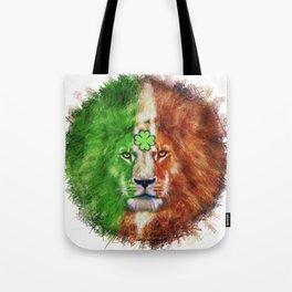St. Patrick's Day Irish Lion Tote Bag