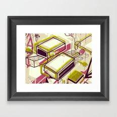 Matchbox Framed Art Print