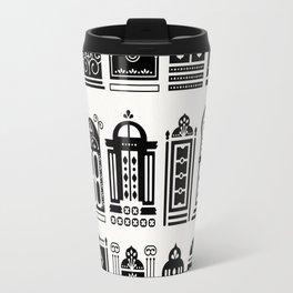 Moroccan Doors – Black Palette Travel Mug
