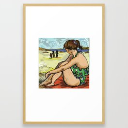 Dolly Dreaming (Saw Sea Series) Framed Art Print