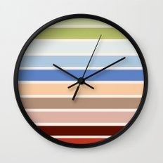 The colors of - Porco Rosso Wall Clock