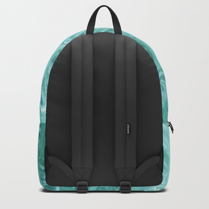 Aqua Bubble Wrap Backpack