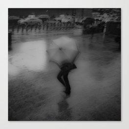 ABSTRACT RAINS Canvas Print