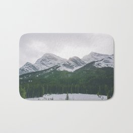 Sun Over The Trees Bath Mat