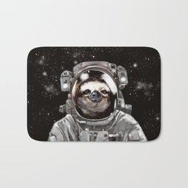 Astronaut Sloth Selfie Bath Mat