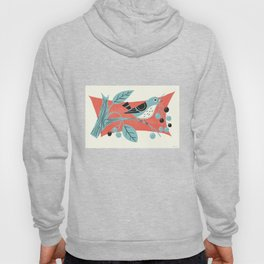Blue Berry Bird Hoody