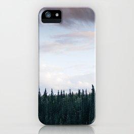Alaska Trees in Denali National Park iPhone Case